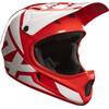 Fox Rampage Race Kask Fullface Mężczyźni czerwony/biały